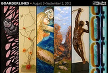 Boarderlines August 3 - September 2, 2012 / An exhibit showcasing the works of Board Members - Lesley Hall, Kathryn A. Brown, Michele Reday-Cook, Drew Cariaso, & Dawn Wyse Hurto