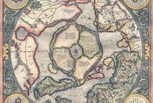 Пангея, Гиперборея, Атлантида