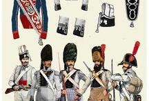 Spanish uniforms