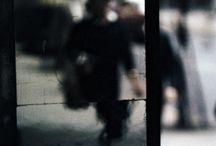 Saul Leiter photographs