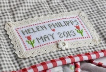 quilt labels / by Isabelle Stirnemann Strappazon