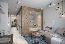 Amenagement petit appartement / Découvrez comment aménager et optimiser l'espace dans un petit appartement. Conseils pour gagner de la place dans un appartement.