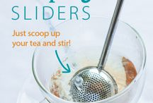 Tea Infusers / We've got fun, easy to use infusers for every kind of loose leaf tea! From kid-friendly, fun infusers to ultra-fine mesh infusers for rooibos and chai, we've got them all! Find them at www.steepedtea.com / by Steeped Tea Inc