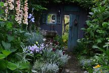 カフェの庭