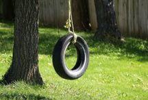 Outdoor Tree Swings
