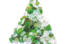 sea glass inspiration of all kinds / Sea glass inspiration and ideas for Christmas and other seasonal times of year.