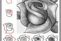 desenhos aprender