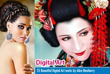 Digital Paintings by Alice Newberry