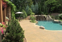Pools and Back Patio / by Kista Haas