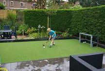 Kunstgras hockeyveld thuis / Wil jij ook graag een kunstgras hockeyveld thuis in je tuin prive laten aanleggen? Dan ben je bij kunstgras de Veluwe aan het juiste adres!