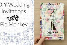 Wedding Ideas / DIY wedding ideas and crafts, pretty wedding projects on a budget!
