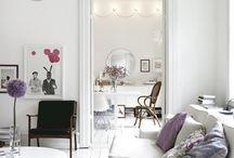 Blanco, radiante y limpio / Refleja la luz como ningún otro color y eso lo hace imprescindible en el hogar! / by alaloo .