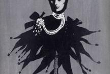 Mode / Vintage posters of Fashion, make up, accessories La Belle Epoque.