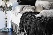 Gothic Home Interiors / Spooky house inspiration for the goth lurking in your little black heart. / by Veiled Visage