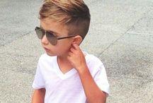 Стрижки для маленького мальчика