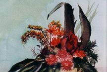 Acuarelas/Watercolors / Cuadros realizados con técnica de acuarela Cadros realizados coa técnica a acuarela Pictures made with watercolor technique