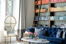 Decorating with Books / Bibliophiles unite! An ultimate collection of bookshelf styling inspiration, plus our designer's picks for creating a unique #shelfie