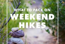 Hiking / The must-do hiking trails around! National parks, state parks, or just enjoying the great outdoors.
