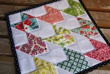 doll quilts / by Sonja M Houser