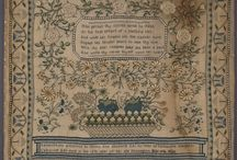 Antique Samplers - 20th Century / 1901 - 2000 / by Susan Stetz