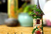 Mini house art