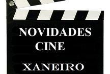 Cine XANEIRO 2017 / Novidades de CINE en Xaneiro do 2017 na Biblioteca Ánxel Casal