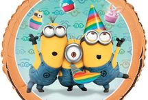 Despicable Me - Minions Birthday Party Ideas