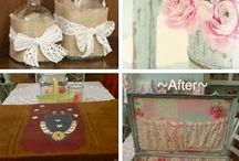 Diy shabby chic decor ideas
