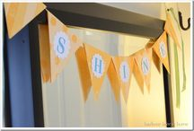 Pennant/Bunting banner