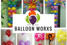Balloon Worxs / Balloon Decor for corporate, retail, special events and weddings.