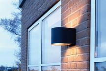 LightU outdoor wall lamp / Our soft-looking U shaped exterior lamp for wall installation
