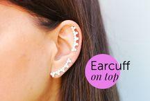 EarCuff On Top / New Earrings:)