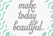 Beautiful Words ☁