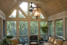 Porches and sunrooms  / by Shannon Hummel