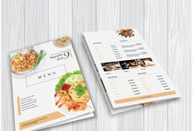 Marketing & Printing Collateral Design Inspiration / Get inspired with eye-catching marketing and printing collateral design.