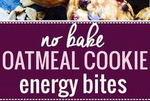 No bake snack bars