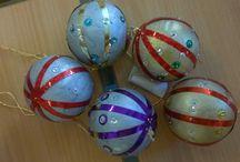 Karácsonyi gömbök - Christmas ornaments