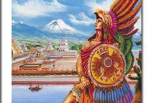 HISTOIRE DE MEXIQUE / HISTORIA DE MEXICO / Un petit aperçu sur l'histoire du Mexique