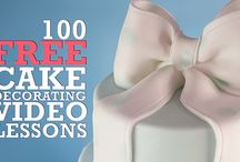 100 free cake decorarting lessons short