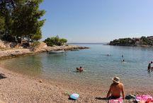 Uvale i Plaže (beaches and bays)