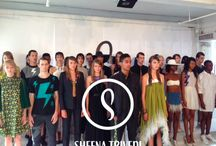 #NYFW: Sheena Trivedi S/S 2015 / NU EVOLUTION was the Beauty Sponsor of Sheena Trivedi's Spring/Summer Show at New York Fashion Week! Find out more about the designer at http://sheenatrivedi.com