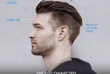 férfi divat frizurák