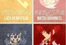 Fairy Tail♥♥♥♥♥ / Anime, manga ♥ Natsu , Lucy, Happy, Gajeel, Levy, Erza, Gray.... Fairy tail , Mermaid Heel,  Blue Pegasus..