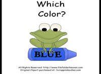 Colors Preschool Stuff