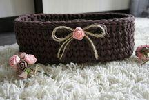 Мои корзинки / Корзинки ручной работы Автор: @d_lukyanova @daria_crochet https://vk.com/lukyanova_dasha
