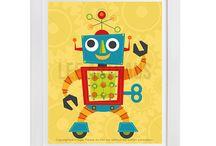 Lee ArtHaus Robot Prints / Lee ArtHaus Robot Prints