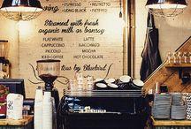 Interieur lounge café