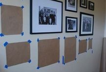 Picture Frame hanging ideas