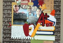 Scrapbook Layouts / Scrapbook Layouts using Snapdragon Snippets cut files