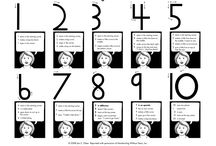 Math:  Number Ideas/Activities / by Bonnie Wolf